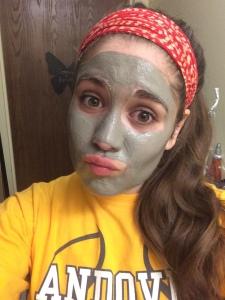 wearing mask