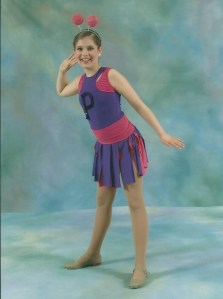 Sixth grade, the year I got fat, in an international award-winning tap routine.