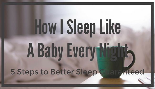 how to get my baby to sleep at night