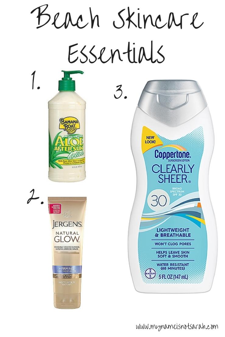 2016-06-09 Skincare Essentials Summer