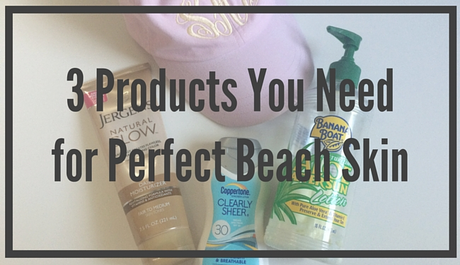 2016-06-09 Summer Beach Skincare Feature Image