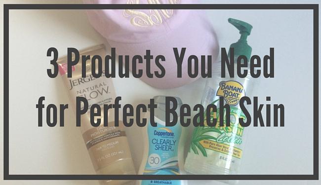 2016-06-09 Summer Beach Skincare Feature Image