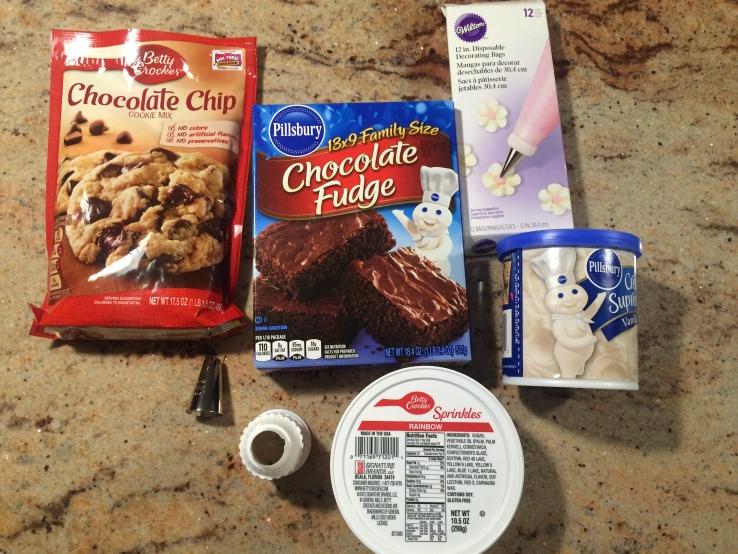 2016-06-21 Cupcake Brownies Ingredients
